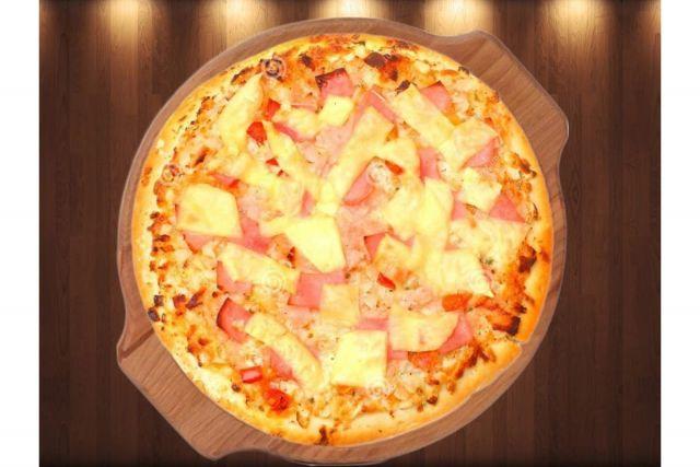 """пицца """"Гавайская с ветчиной"""""""