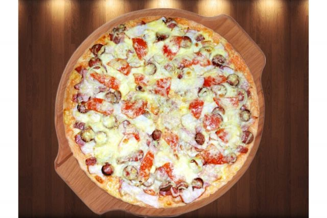 """пицца """"Де Люкс"""""""