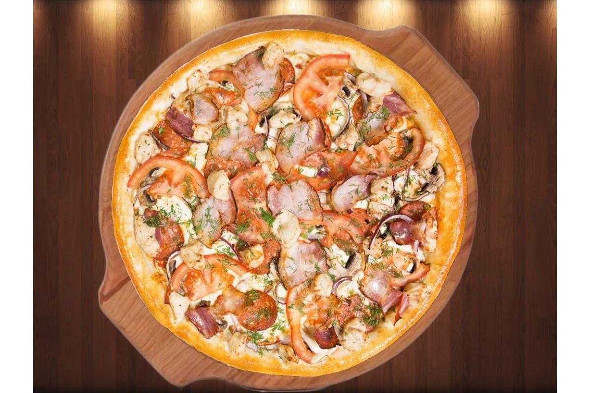 """пицца """"Дон Бекон"""""""