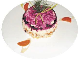 Салат Селёдочка под шубой