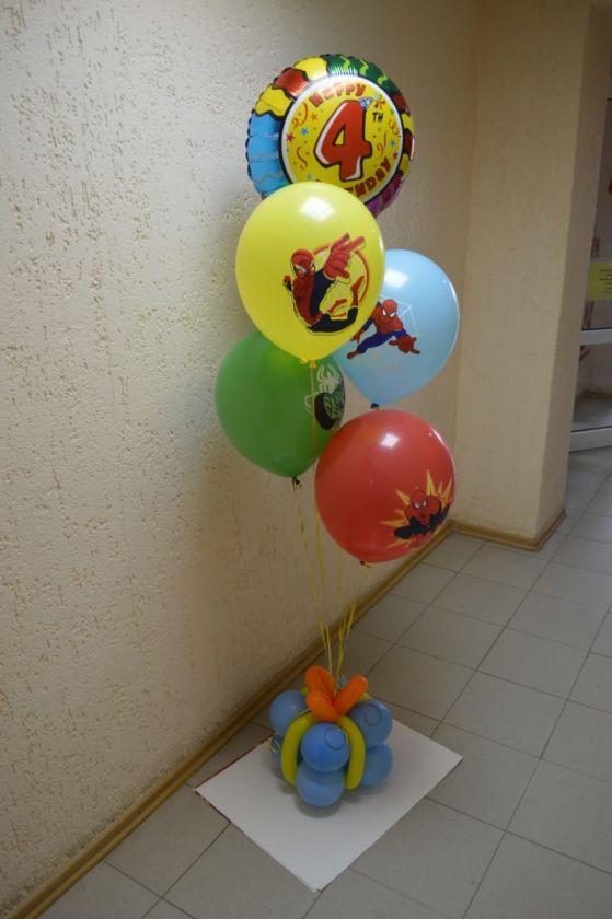 Фонтан из 5 шаров