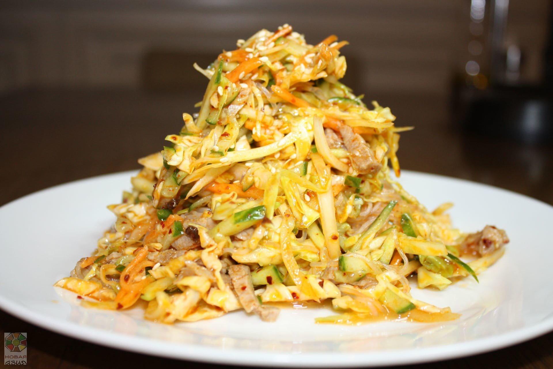 китайские салаты рецепты с фото в домашних немногочисленных нюансах
