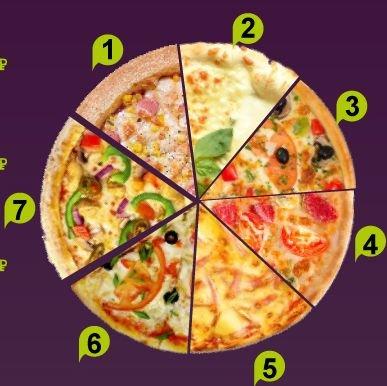 пицца Вегетарианская (3)