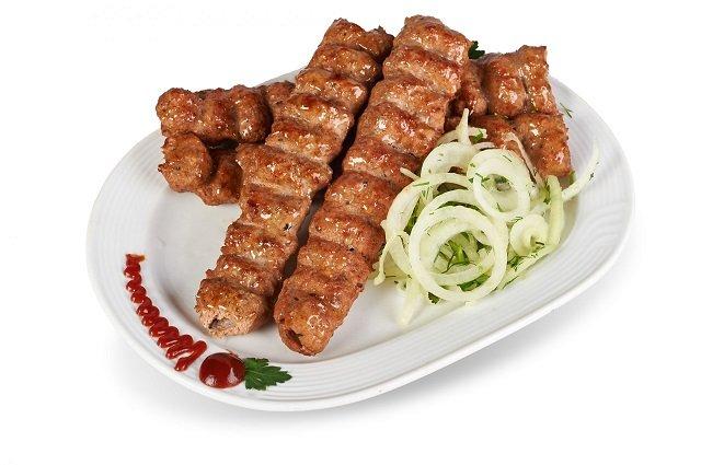 Люля кебаб говядина