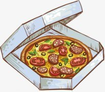 Пицца Гавайская с ветчиной