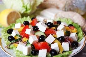 Греческий  с сыром фета