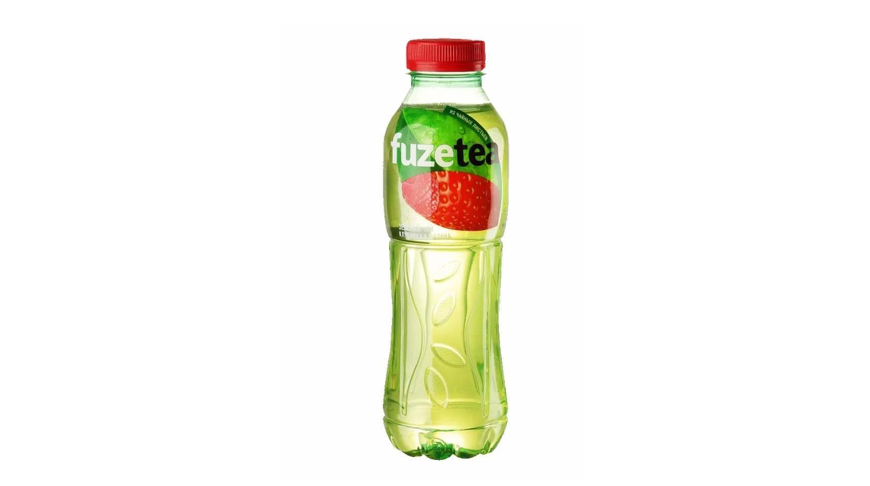 Чай хол. Fuzetea зеленый чай клубника малина 0,5л